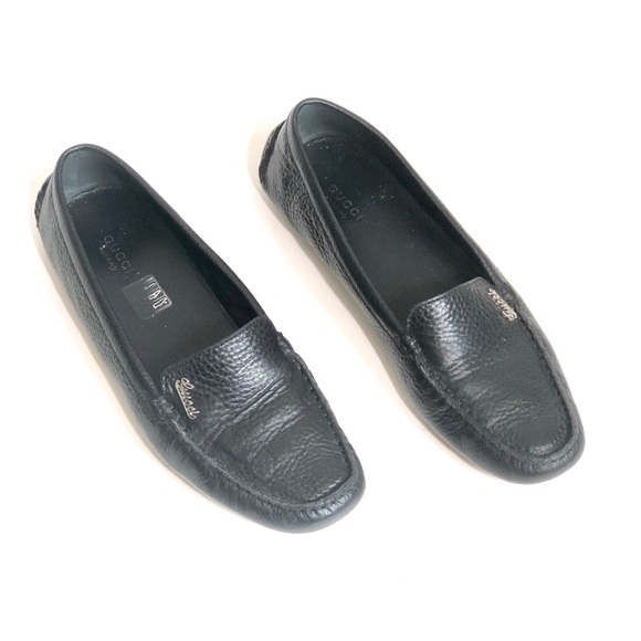 1885fe56e Gucci Shoes | Black Slip On Loafers | Poshmark